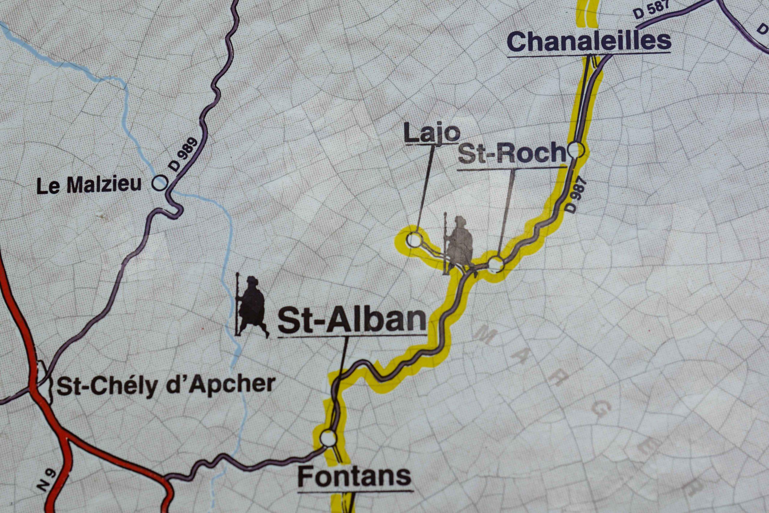 Chemin de Saint-Jacques ©Jean-Sébastien Caron