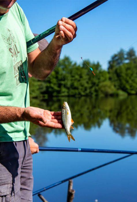 Pêche au plan d'eau de la Gravière ©Jean-Sébastien Caron